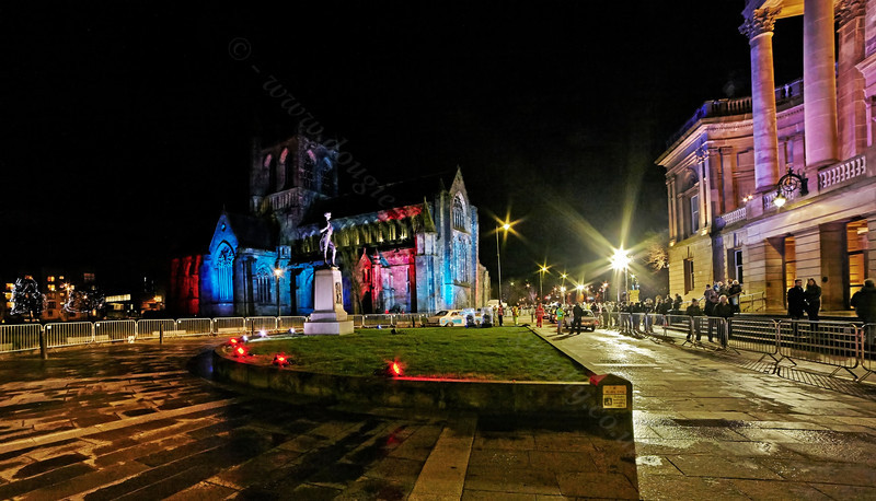 Heading Home from the Monte Carlo Classic Car Rally at Paisley Abbey - 23 January 2014