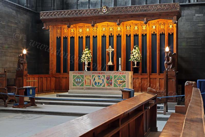 Altar - Paisley Abbey - 6 June 2012