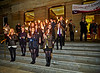 Torchlit Procession for the MOD in Paisley - 11 October 2013