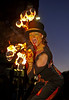 Ariel Killick - 'Fire Stilt Walker' at MOD Procession in Paisley - 11 October 2013