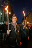 Everyone Seems to be Enjoying the Torchlit Procession for the MOD in Paisley - 11 October 2013