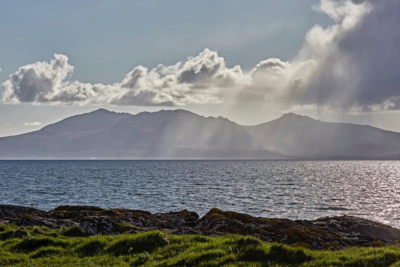 Isle of Arran from Portencross - 27 April 2018