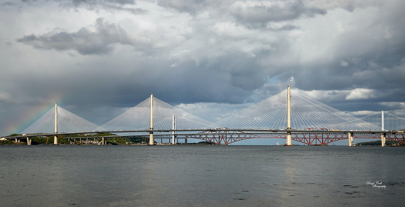 Queensferry Crossing at South Queensferry - 14 May 2017