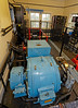Machinery Room in the Inchinnan Bascule Bridge - 12 September 2013