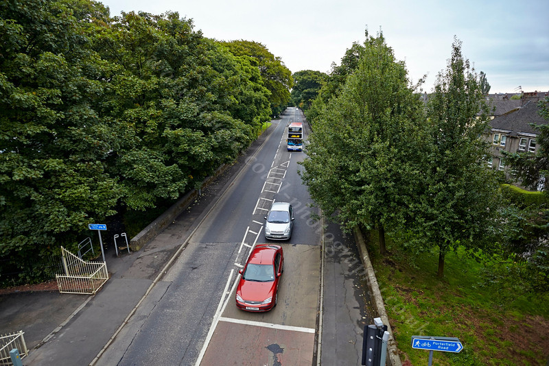 View to Renfrew from the Inchinnan Bascule Bridge - 12 September 2013