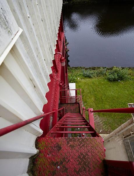 Long Way Down from the Inchinnan Bascule Bridge - 12 September 2013