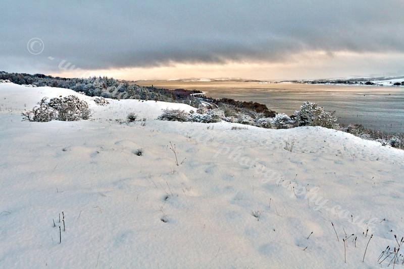 Snow Scene - Langbank