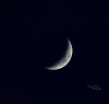 Moon over Langbank - 18 March 2021