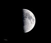 Moon from Langbank - 20 April 2021