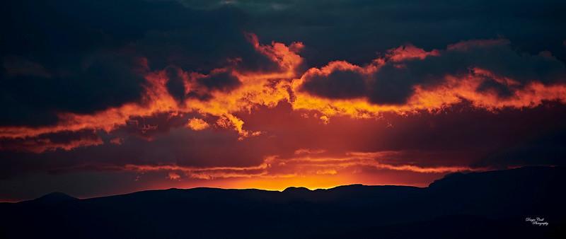 Sunset from Langbank - 27 April 2021