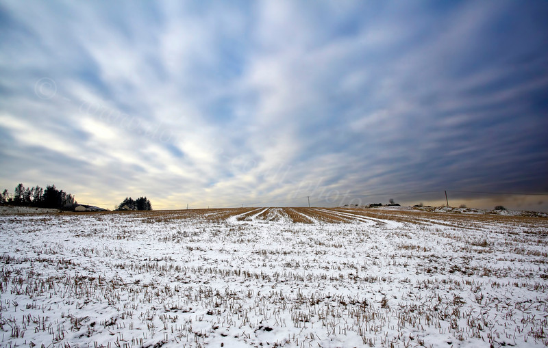 View Over Langbank - 24 January 2013