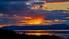 Sunset from Langbank - 29 April 2021