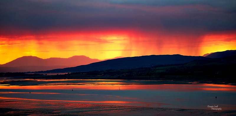 Sunset from Langbank - 16 May 2021