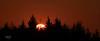 Sunset from Langbank - 1 September 2021