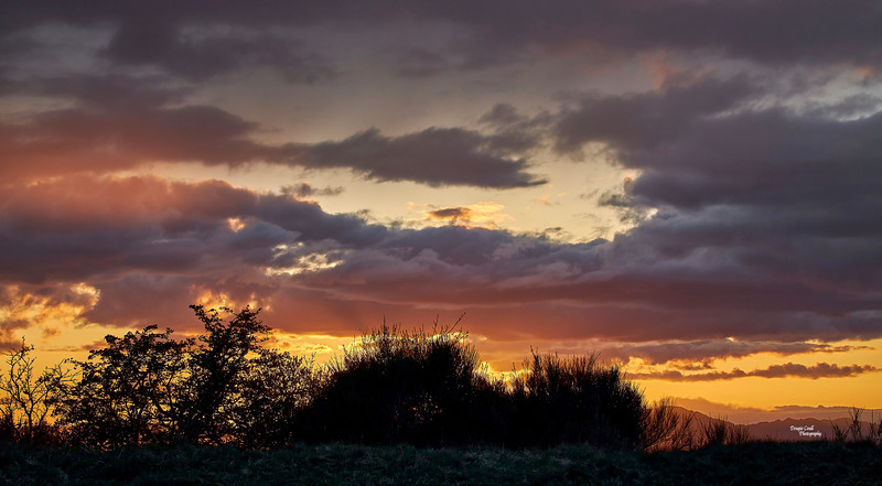 Sunset from Langbank - 1 May 2021