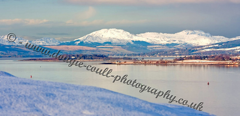 Cowal Hills from Langbank