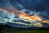 Sunset - Langbank - 15 October 2012