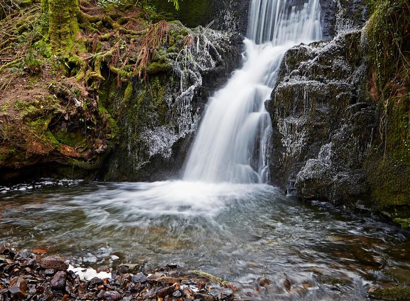 Waterfall near Langbank - 20 January 2015