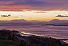 Cowal Hills Sunset from Langbank - 29 April 2012