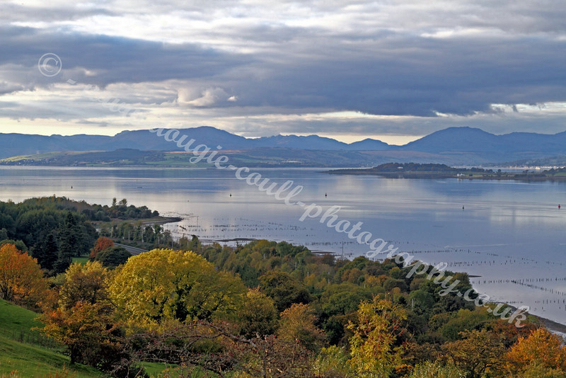 View of Cowal Hills from Langbank