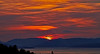 Sun Sets Over the Cowal Hills from Langbank - 21 April 2014