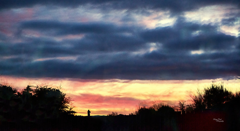 Sunset from Langbank - 19 March 2021