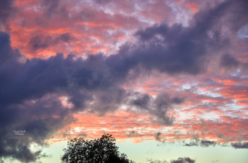 Sunset from Langbank - 19 October 2021