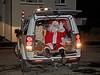 Santa in Langbank - 20 December 2020