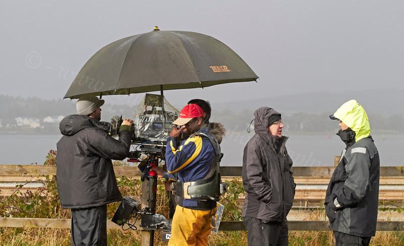 Filming 'Waterloo Road' in Langbank - 17 September 2012