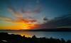 Sunset at Langbank - 26 June 2015