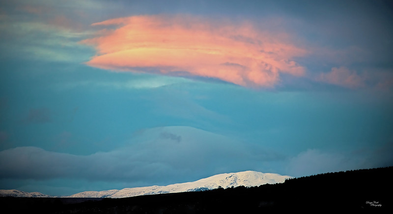 Fire and Ice from Langbank - 23 January 2021