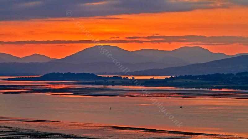 Langbank Sunset - Langbank - 10 July 2013