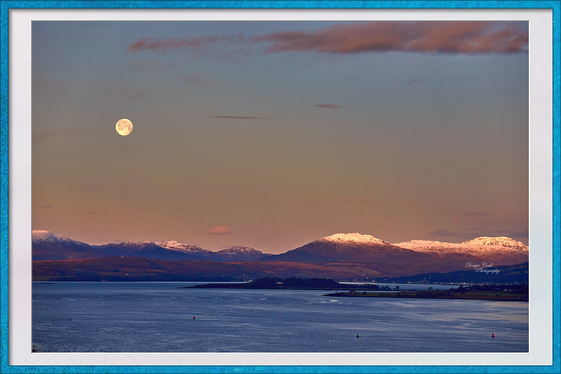 Cowal Hills from Langbank - 13 December 2019
