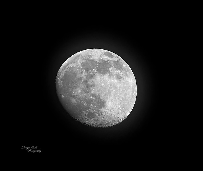 Moon from Langbank - 24 April 2021