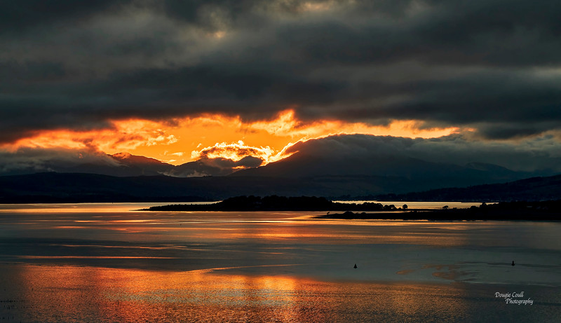 Sunset from Langbank - 23 May 2021