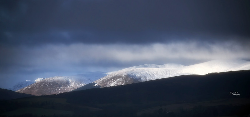View from Langbank - 30 January 2021