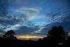Sunset from Langbank - 8 September 2021