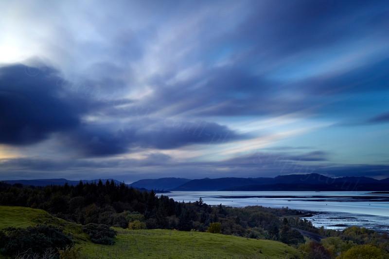 Twilight - Langbank - 15 October 2012
