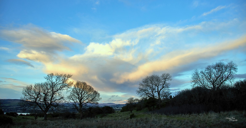 Clouds from Langbank - 23 January 2021