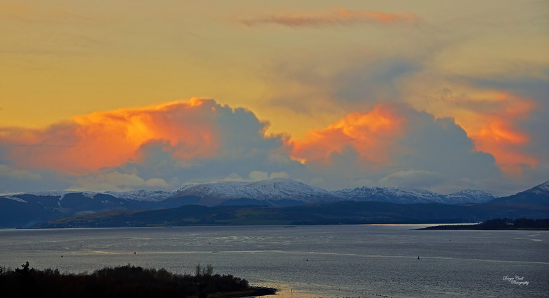 View from Langbank - 23 January 2021