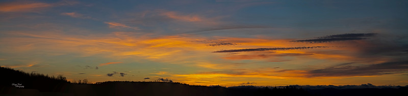 Sunset from Langbank - 18 March 2021