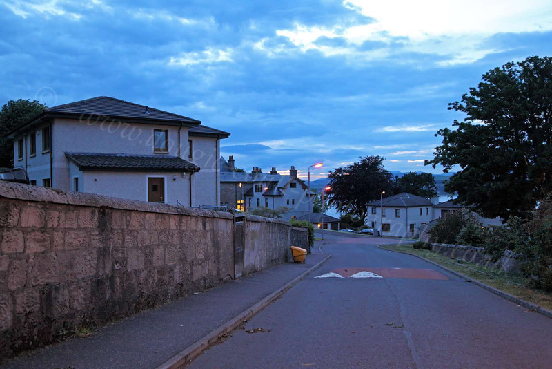 Langbank at Night - 20 June 2012
