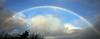 Rainbow over Langbank - 22 December 2020