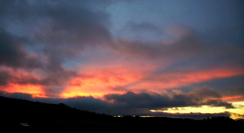 Sunset from Langbank - 20 January 2021