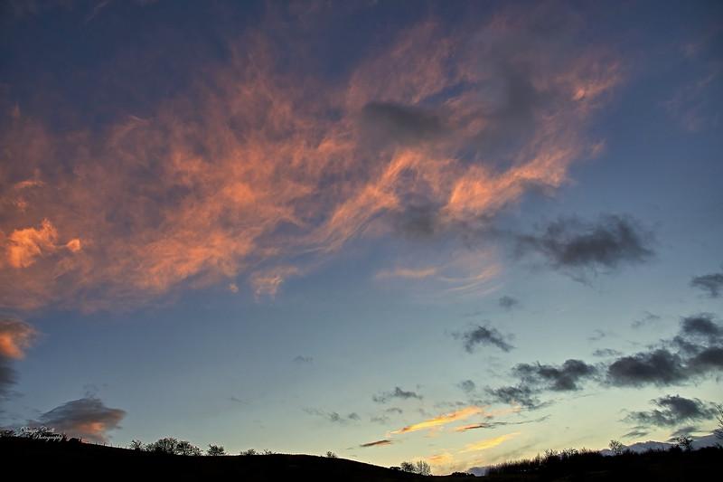 Sunset from Langbank - 21 January 2021
