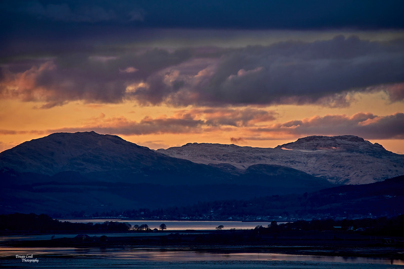 Sunset from Langbank - 10 April 2021