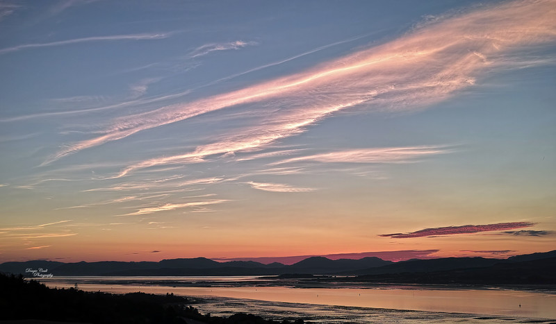 Sunset from Langbank - 17 July 2014