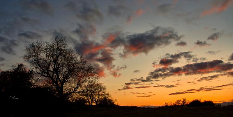 Sunset from Langbank - 20 April 2021