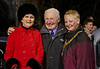 Rosemary Smith - Paddy Hopkirk - Provost Anne Hall at the Monte Carlo Classic Car Rally at Paisley Abbey - 23 January 2014