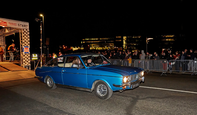 Monte Carlo Classic Rally at Paisley - 25 January 2017
